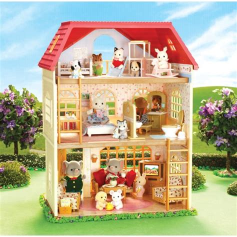 calico critters house calico critters oakwood home educational toys planet