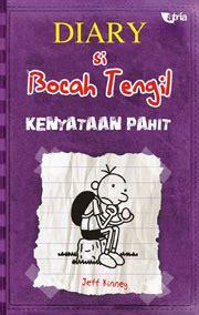 Buku Diary Si Bocah Tengil resensi novel anak diary si bocah tengil kenyataan pahit by jeff kinney smart