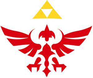 Hylian Shield Outline by This Is Sparthur