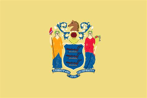 new jersey colors new jersey state flag
