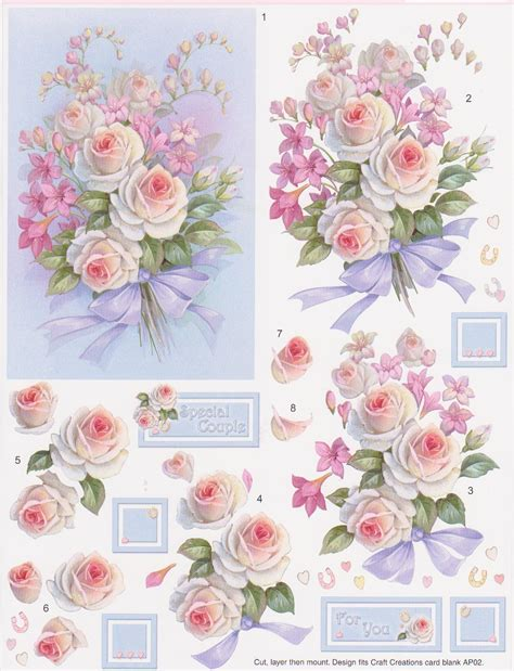 chic mania decoupage 3d and cards