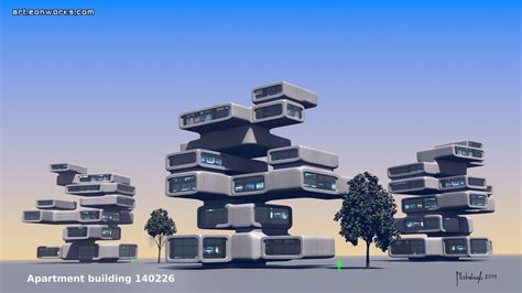 building concept apartment building concept