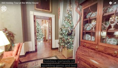 white house releases 3d holiday tour