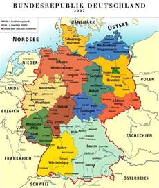 map of germany with states and capitals german states basic facts photos map of the states of