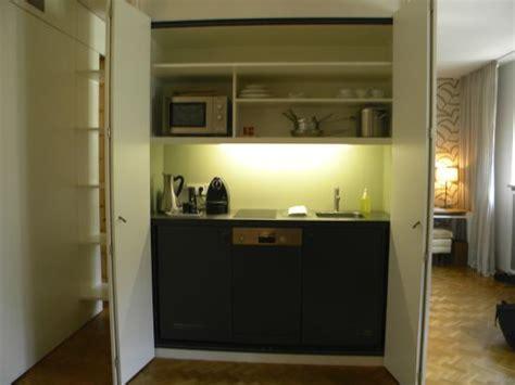 kitchen in a cupboard kitchen in a cupboard picture of cortiina hotel munich