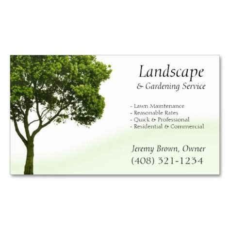 Landscaping Business Cards Templates Free by 196 Best Images About Lawn Care Business Cards On