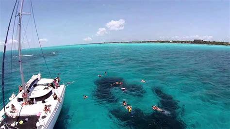 catamaran sailing cancun cancun sailing catamarans 2015 youtube