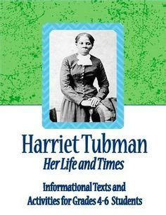 harriet tubman biography and questions literacy clipart best clipart best