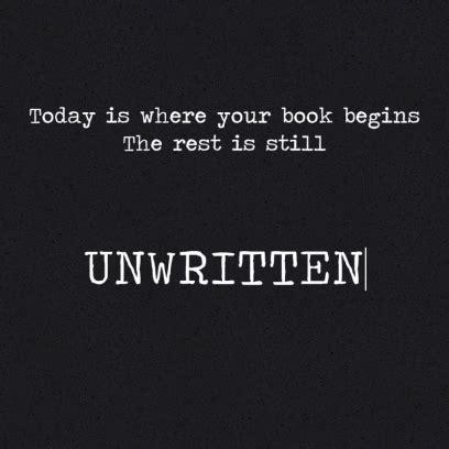 unwritten a novel unwritten on