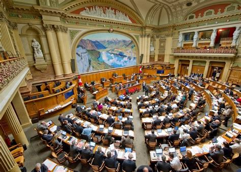 bild  bundeshaus nationalratssaal