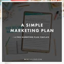 simple marketing plan template for small business 1000 ideas about marketing plan on marketing
