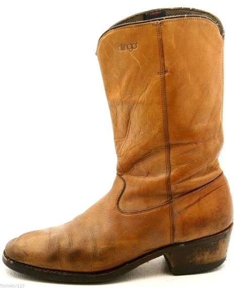 light tan cowboy boots dingo mens cowboy boots size 9 5 d light brown tan western
