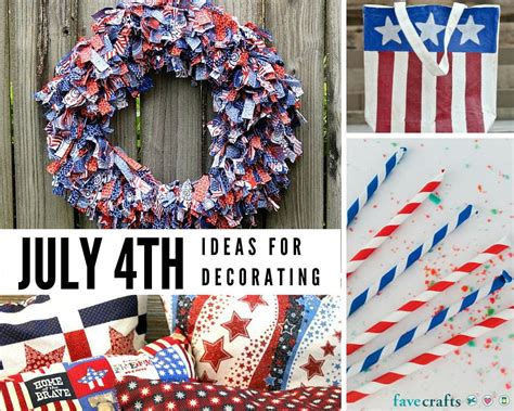 fourth of july decorations 48 fun 4th of july decorating ideas favecrafts com