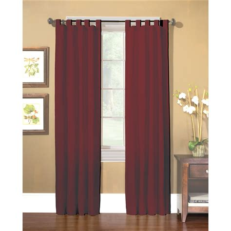 sailcloth drapes country living americana red sailcloth window panels