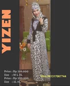 Gamis Wanita Jakarta baju muslim terbaru tenda dan bunga jakarta