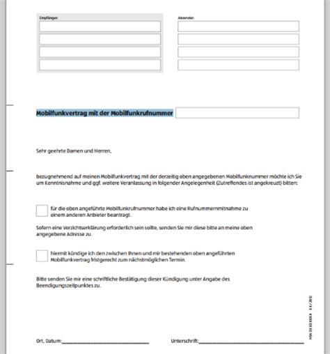 Handyvertrag Kündigen Blau De Vorlage K 252 Ndigungsschreiben Erstellen Cortal Consors Kunden Werben