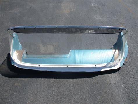 vintage boat windshields vintage crestliner boat windshield and padded dash 1960 s