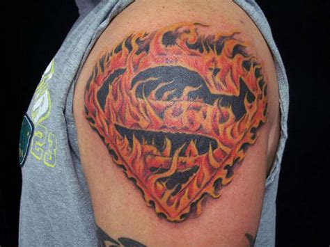 superman logo tattoo designs 27 awesome superman tattoos designs