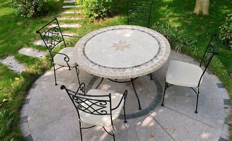 mesa piedra jardin galer 237 a de im 225 genes mesas de jard 237 n de piedra