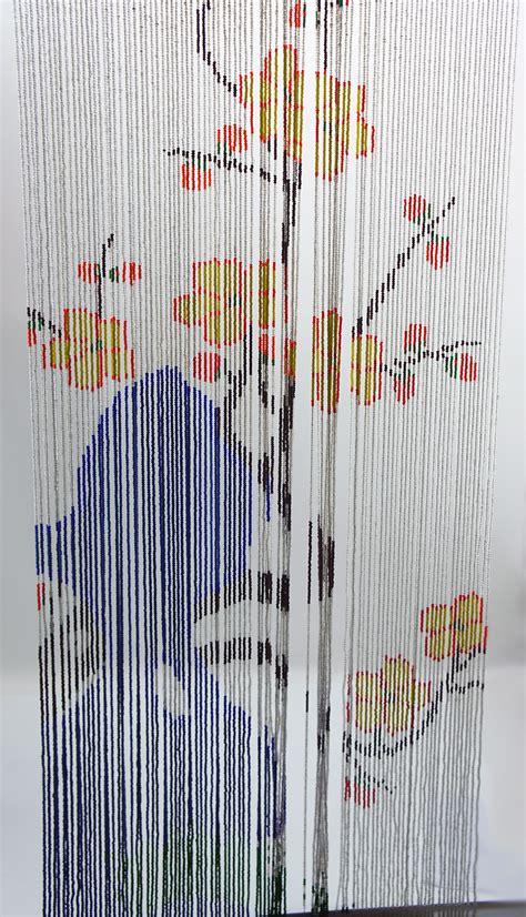 glasperlen vorhang vintage t 252 rvorhang vorhang perlen glas glasperlen um 1950