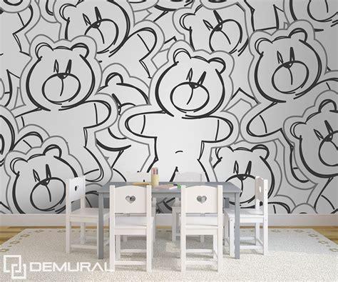 papier peint chambre d enfant c 226 de l ours papier peint pour la chambre d enfant