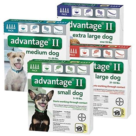 advantage ii large bayer advantage ii large dogs 55 pound 4 month dogs helper
