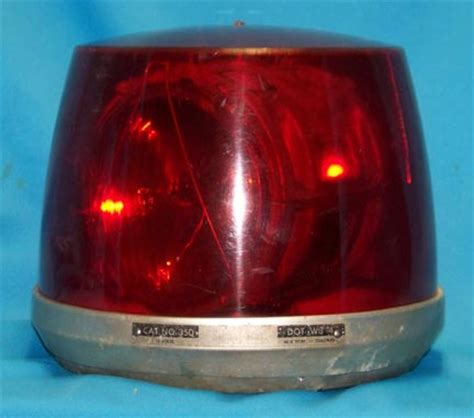 Signal Stat Lights by Vintage Antique Emergency Department