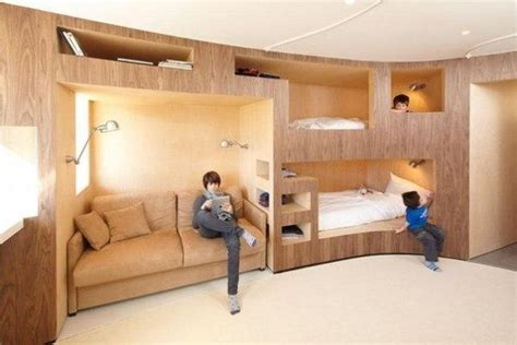 Childrens Bunk Beds Ideas Design Modern Bunk Beds Offering Attractive Space Sacing Ideas For Large And Small Rooms