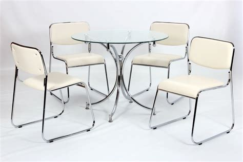 glass table and chairs modern small glass dining table and 4 chairs