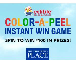 Edible Arrangements Gift Card - win the children s place edible arrangements gift cards free sweepstakes contests