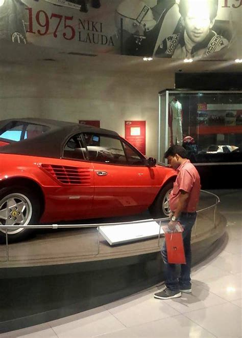 Ferrari World Working Hours by Guy Took His Taxi Driver To Ferrari World Theme Park In