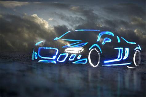 light graffiti cars