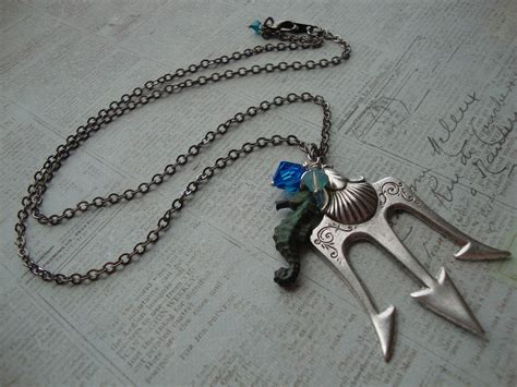 Neptune Kitchen Furniture poseidon percy jackson lightning thief trident necklace