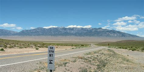 Nye County Records Photo Along Nv S R 379 South Of Duckwater Nevada