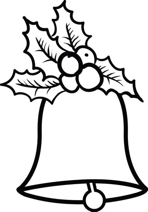 free printable coloring pages of christmas bells free printable christmas bells coloring page for kids 2