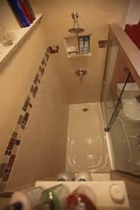 bathroom tiles ceramic tile:  design ideas tile shower niches bathroom shower ceramic crown molding