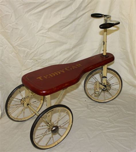 Bargain John's Antiques   Teddy Car Tricycle Type Antique