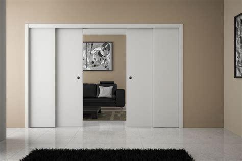 ermetica porte les portes coulissantes 224 galandage par ermetika osco