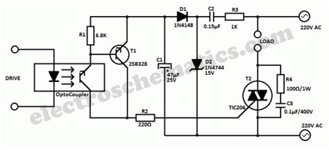 optocoupler high voltage transistor controlling triac using digital pot for a 220v 500w dimmer page 2