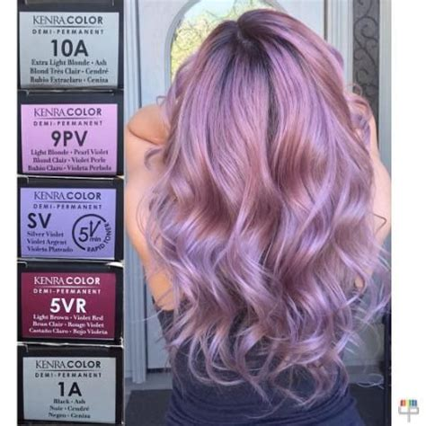 matrix lavender formula metallic obsession creating this ash blonde ombre by guy