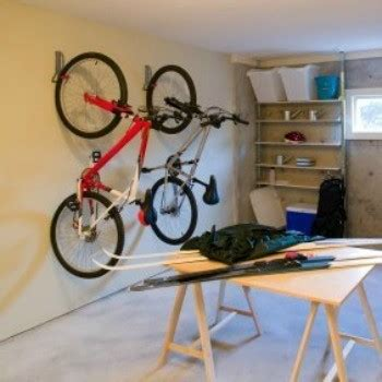 hang l on wall storing bicycles on your wall thriftyfun