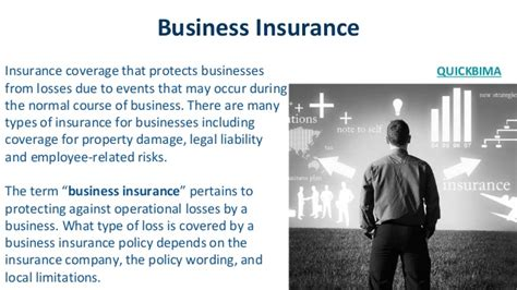 insurance for business business insurance