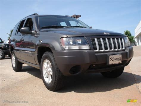 dark gray jeep cherokee 2004 graphite metallic jeep grand cherokee laredo