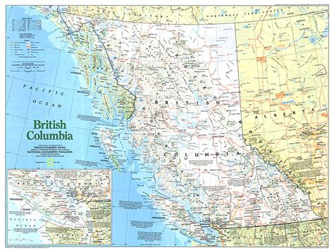 bc canada map columbia map free coloring pages