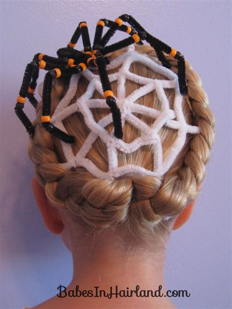 image gallery spider hairstyles spiderweb hairstyle for in hairland