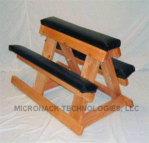 portable spanking bench deluxe wood and vinyl horse f865 ebay