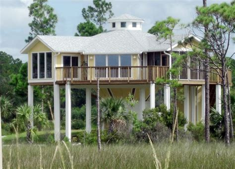 elevated florida house plans raised beach house plans elevated florida beach house plans