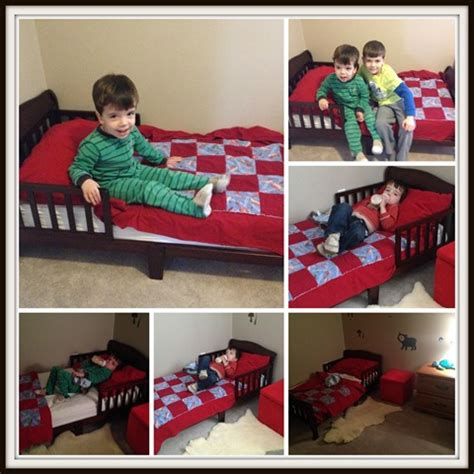 a bed for a boy crib to toddler bed transition