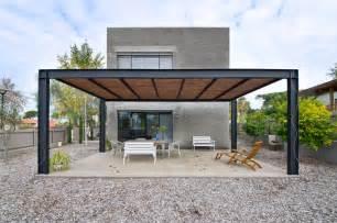Pavillon 2x4 by Pergola Bois Moderne En 28 Mod 232 Les Adoss 233 S Ou Autoport 233 S