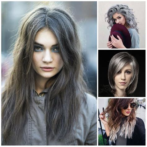 new hair color styles grey hair color trends to use in 2016 new hair color